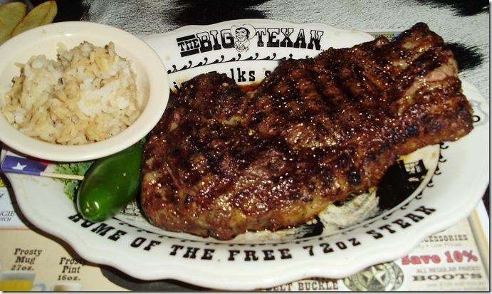A Steak As Big As Texas Gypsy Journal Rv Travel Newspaper