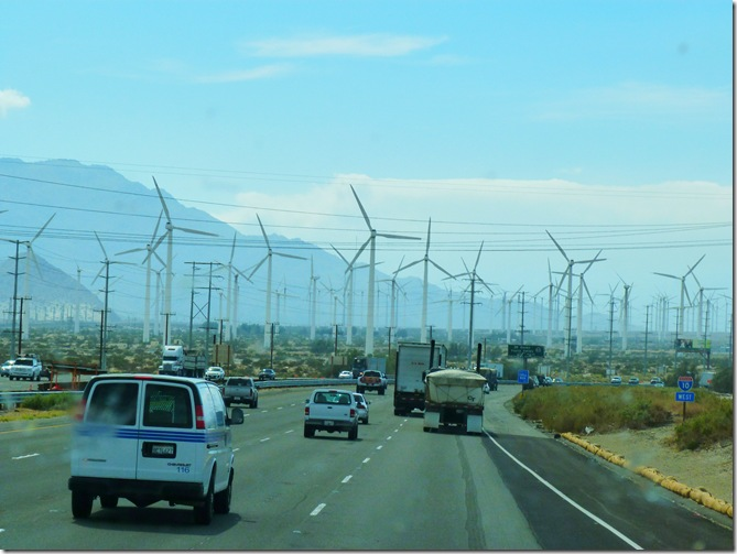 Wind farm traffic