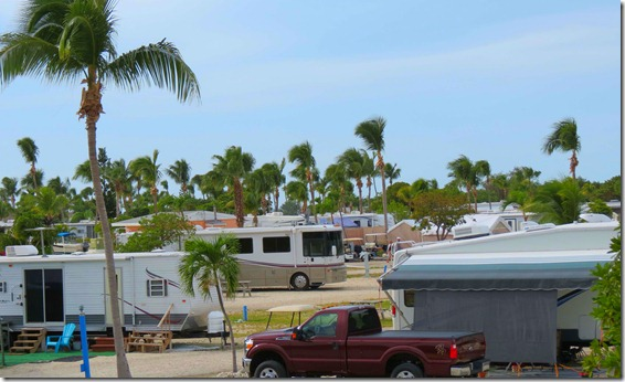 RV Park overhead view
