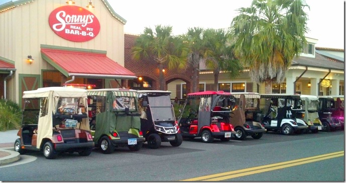 Villages Golf carts 2