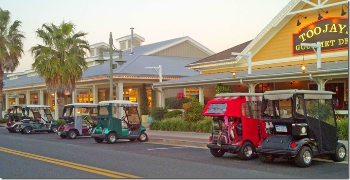 Villages golf carts