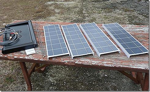 Anywhere solar kit