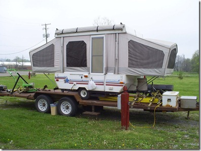 Flatbed camper Dan Karen Silverwood Sugar Creek Ohio