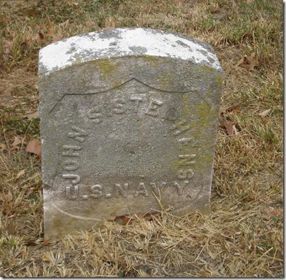 John Stephens Original Headstone Navy 2