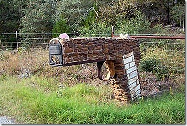 gun mailbox