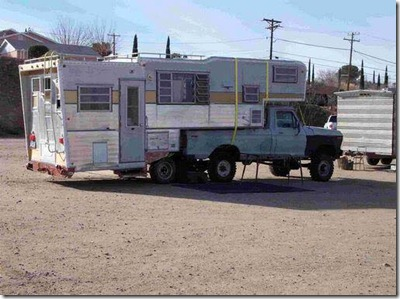 Double Truck camper