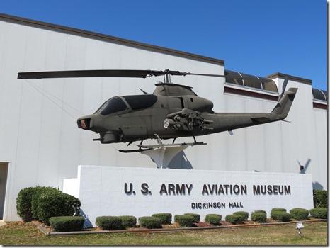 Aviation Museum outside
