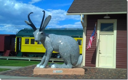 Railroad Jackalope