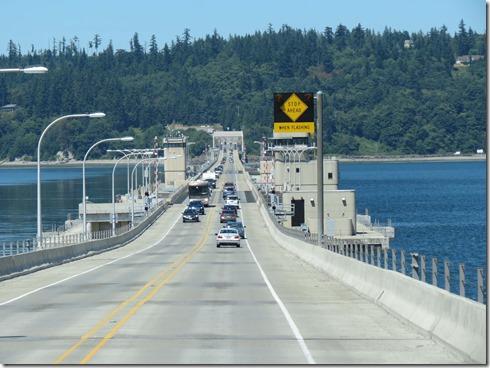 Hood Canal bridge