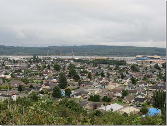 Aberdeen aerial view