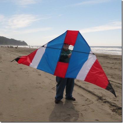 Delta kite 3