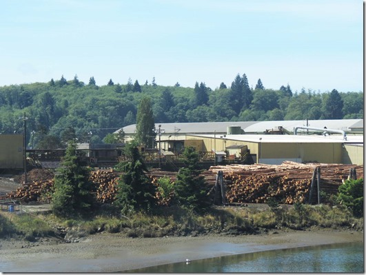Raymond log yard