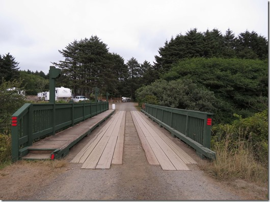Wooden bridge Oceana