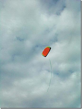 Kite climbing