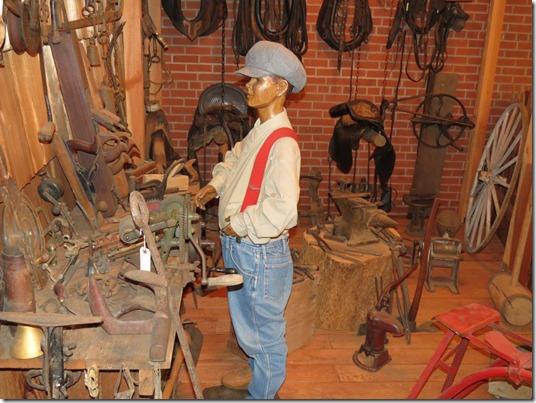 Museum blacksmith shop