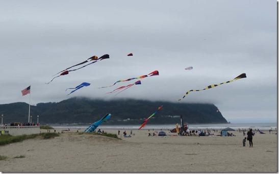 Seaside kite festival