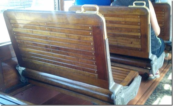 Trolley seats