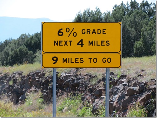 Downhill sign 3