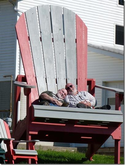 Nick Greg big chair 2