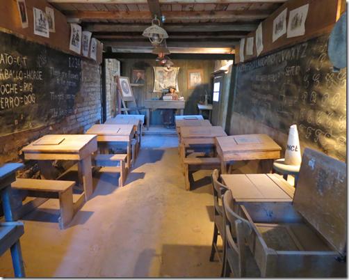 Schoolhouse inside