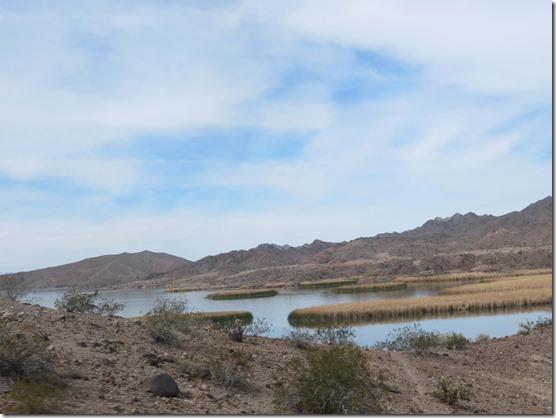 Rough lake terrain