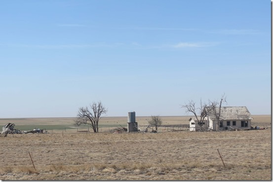 Abandoned Texas farm
