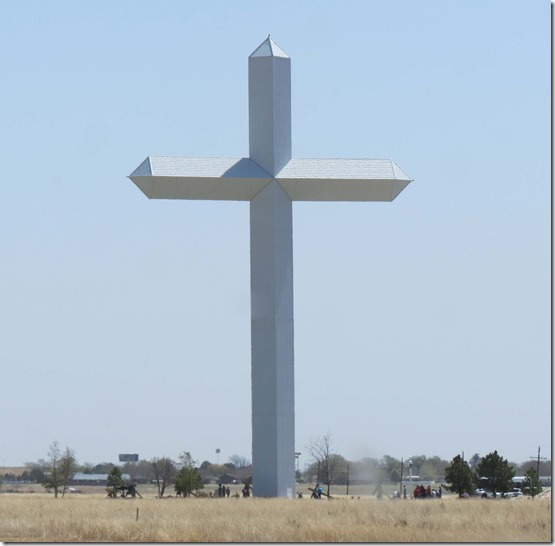 Giant cross Groom Texas