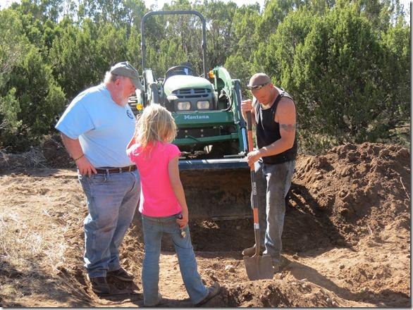 Scott digging