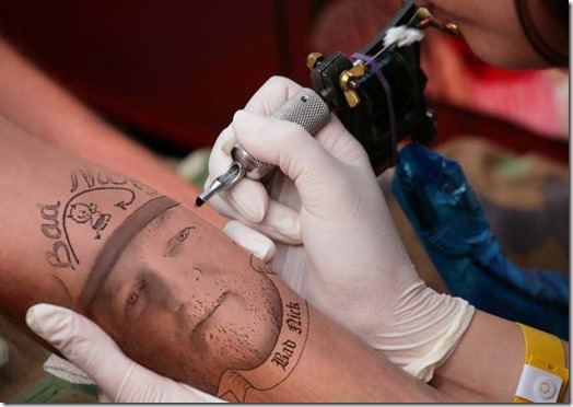 Bad Nick tattoo