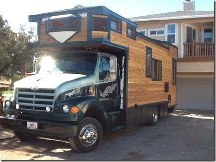 Homebuilt Truck Camper