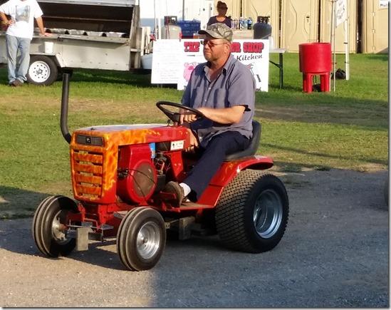 Custom garden tractor