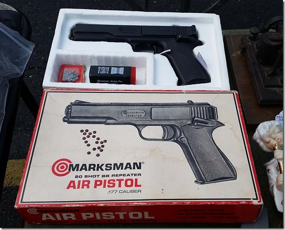 Marksman air pistol