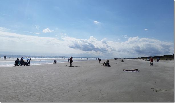Hilton Head beach view