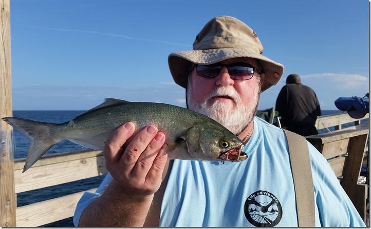 Nick with bluefish