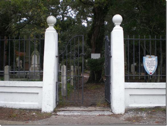 Old Burying Ground Gate