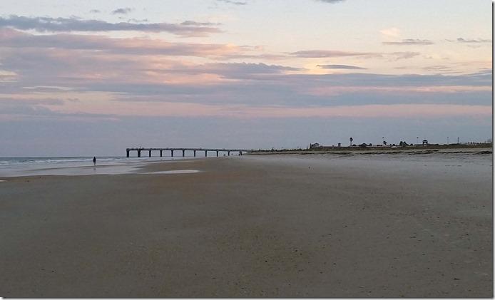 St Augustine beach and pier 2
