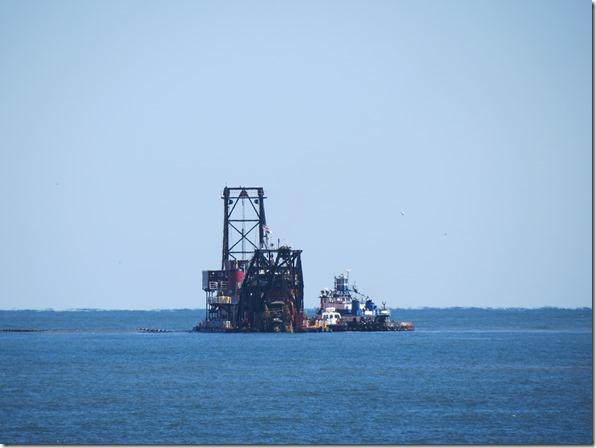 Tybee Island dredge