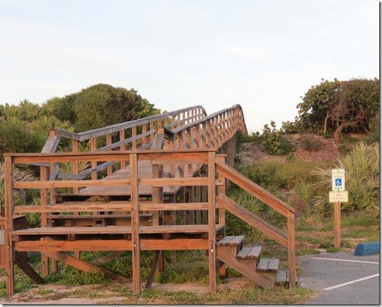 Beach stairs 2