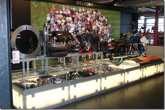Harley on display 2