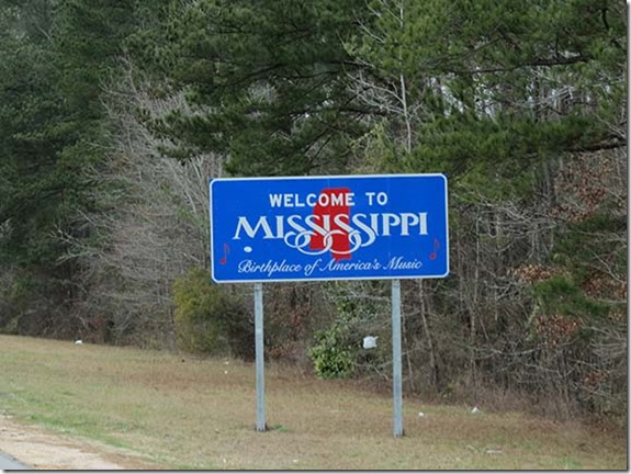 Mississippi sign small