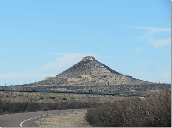 Pyramid mountain
