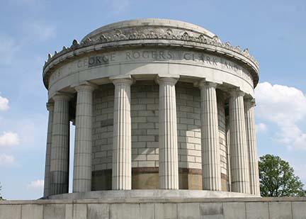 George Rogers Clark monument 10