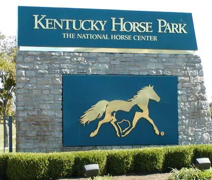 horse park sign