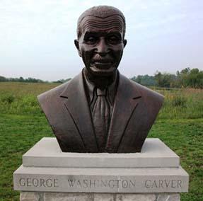 Carver bust