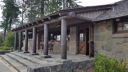 Interpretive Center outside small