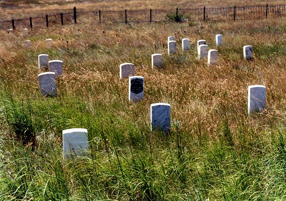 Little Bighorn graves