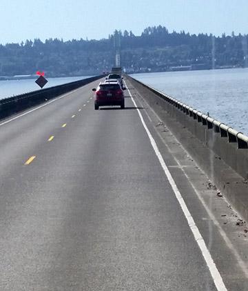 Crossing bridge small