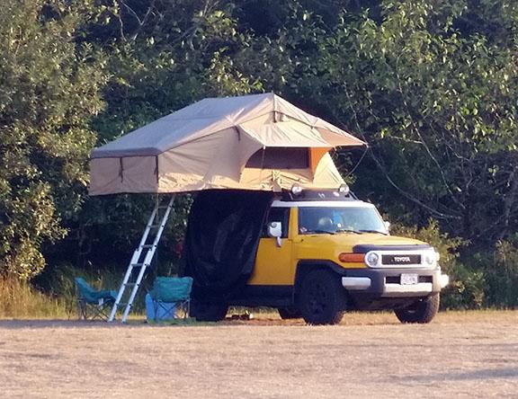 Toyota camper small