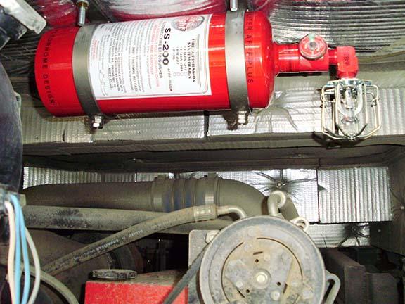 Engine unit installed 2