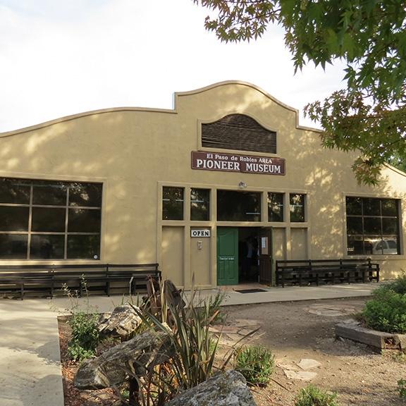 Pioneer Museum outside